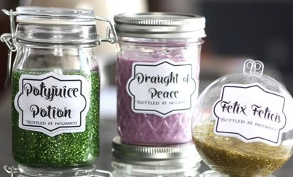 Harry Potter potions and slime themed party