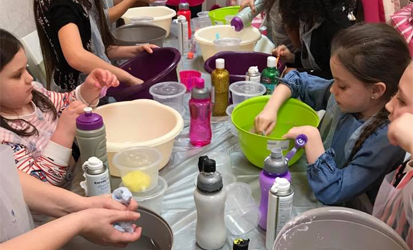 Unicorn Pamper Party with Slime for 10